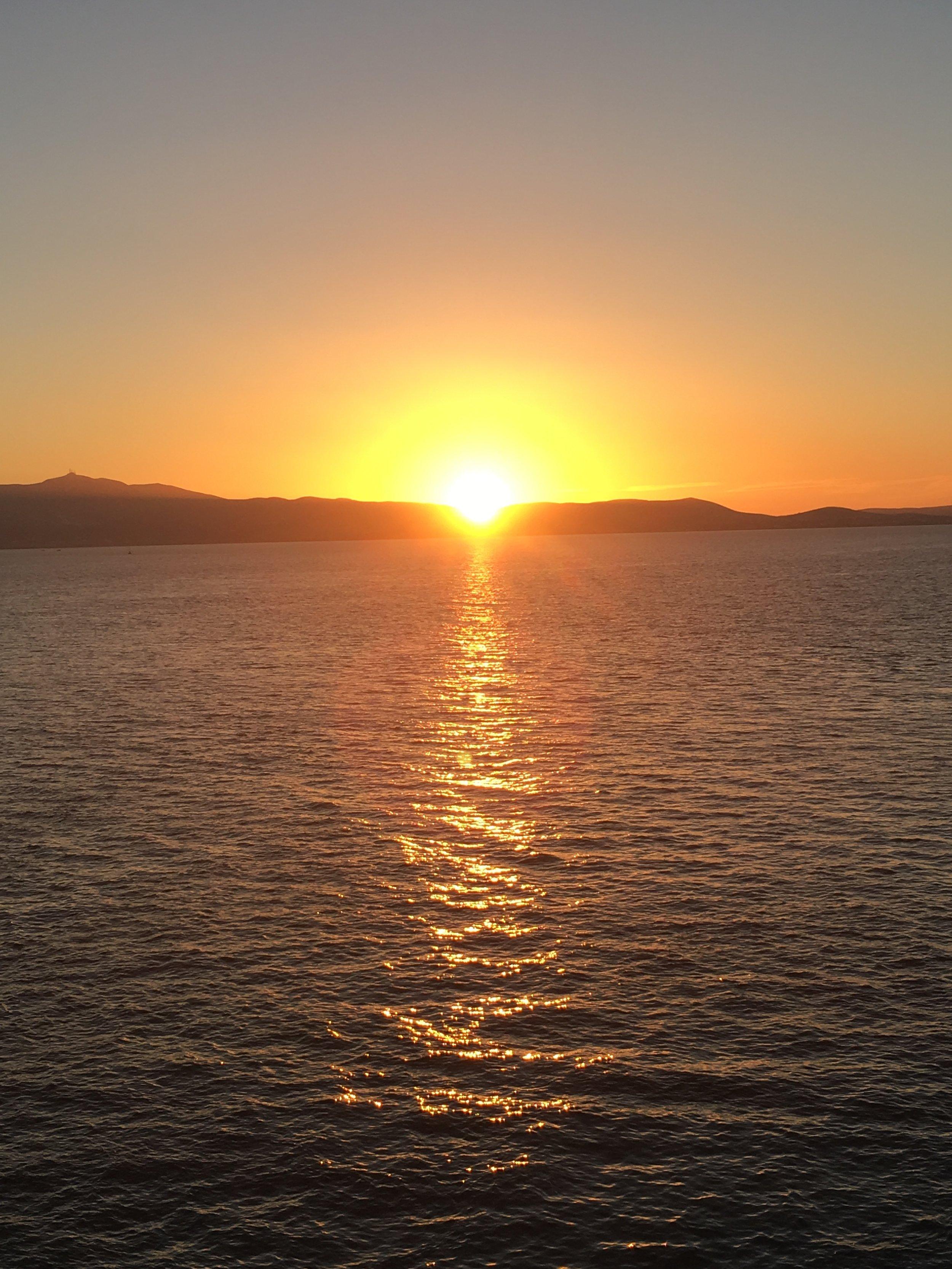 One last island sunset