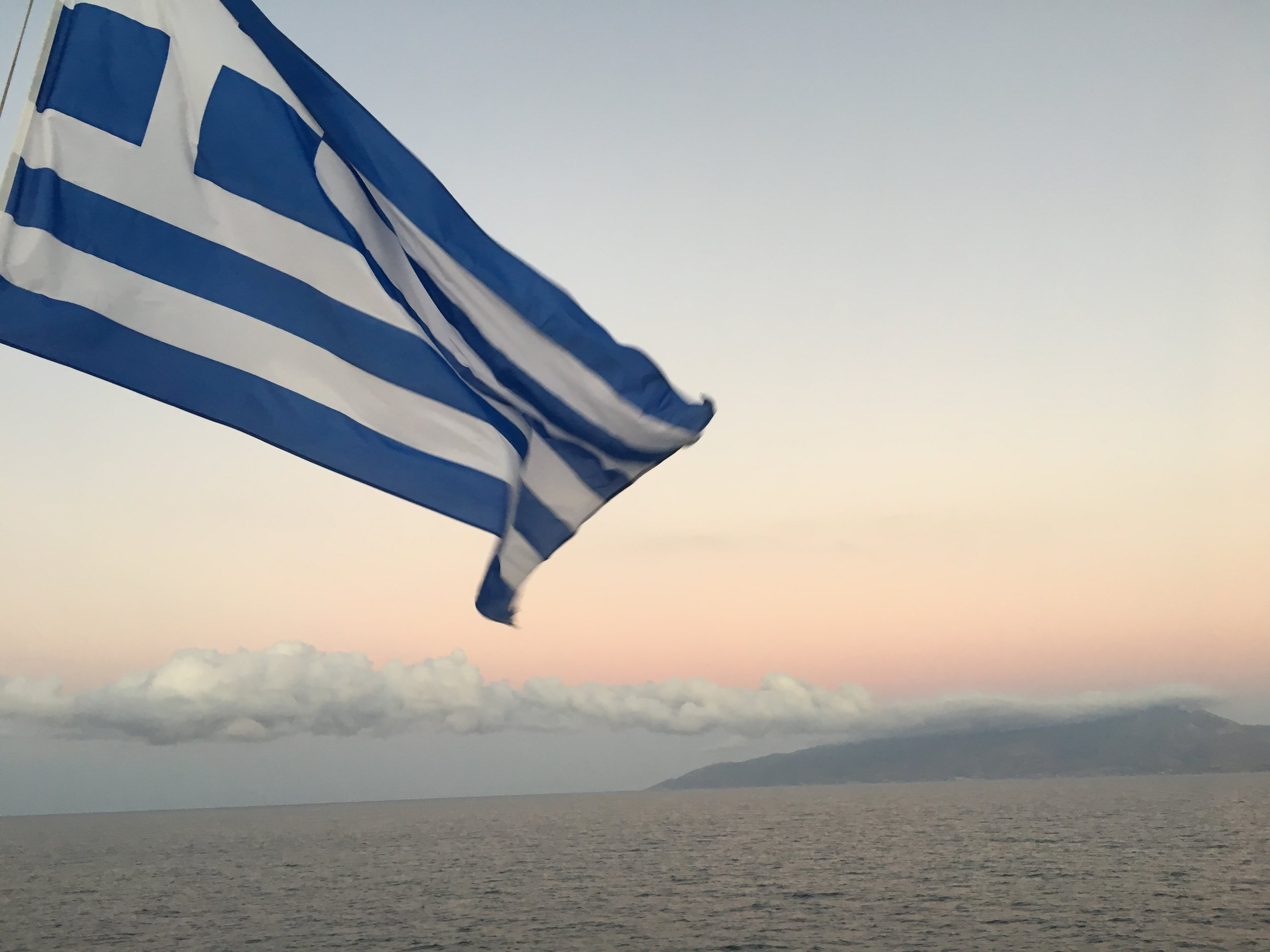 My love for the Aegean Sea remains though