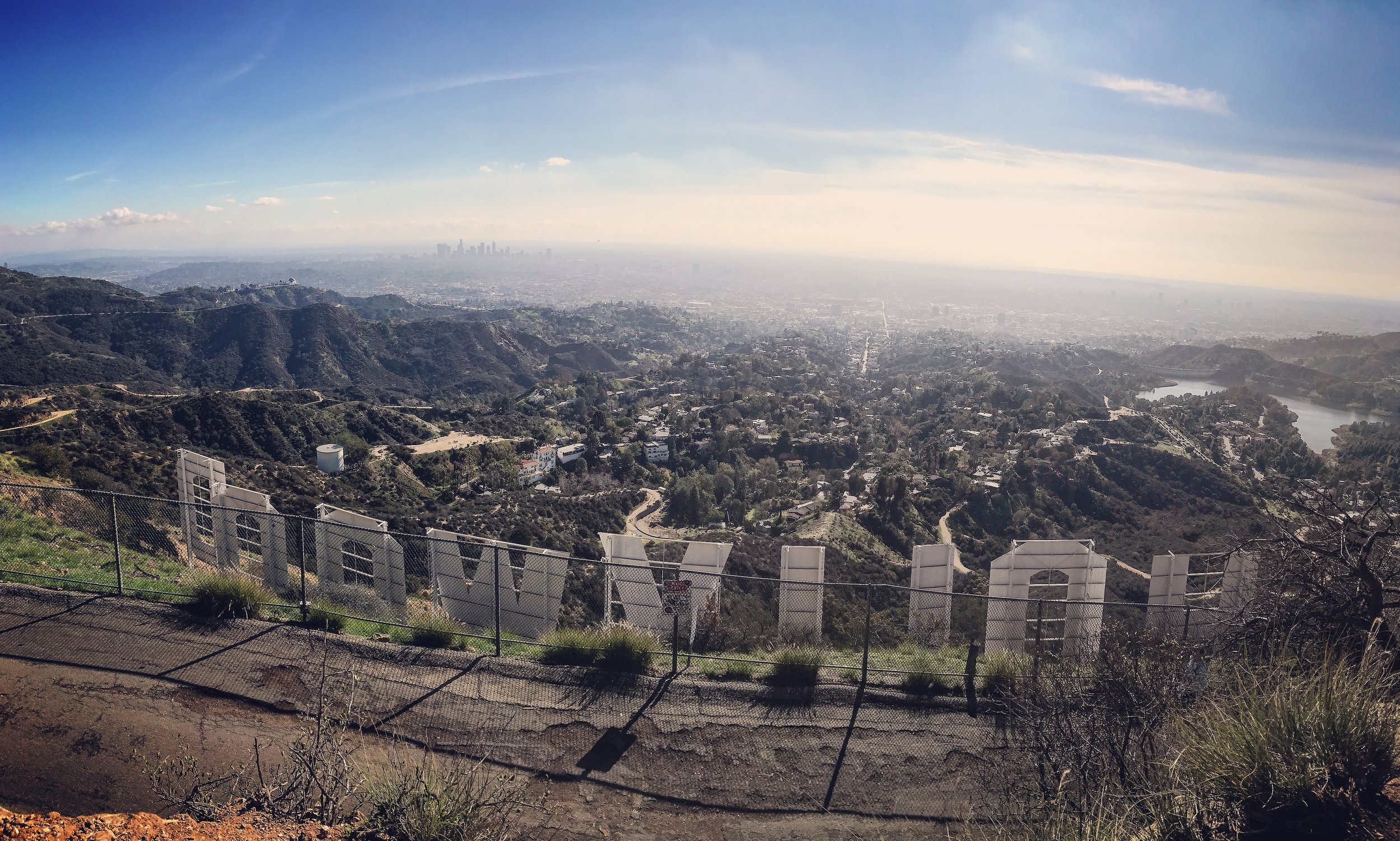 Made it to Hollywood!