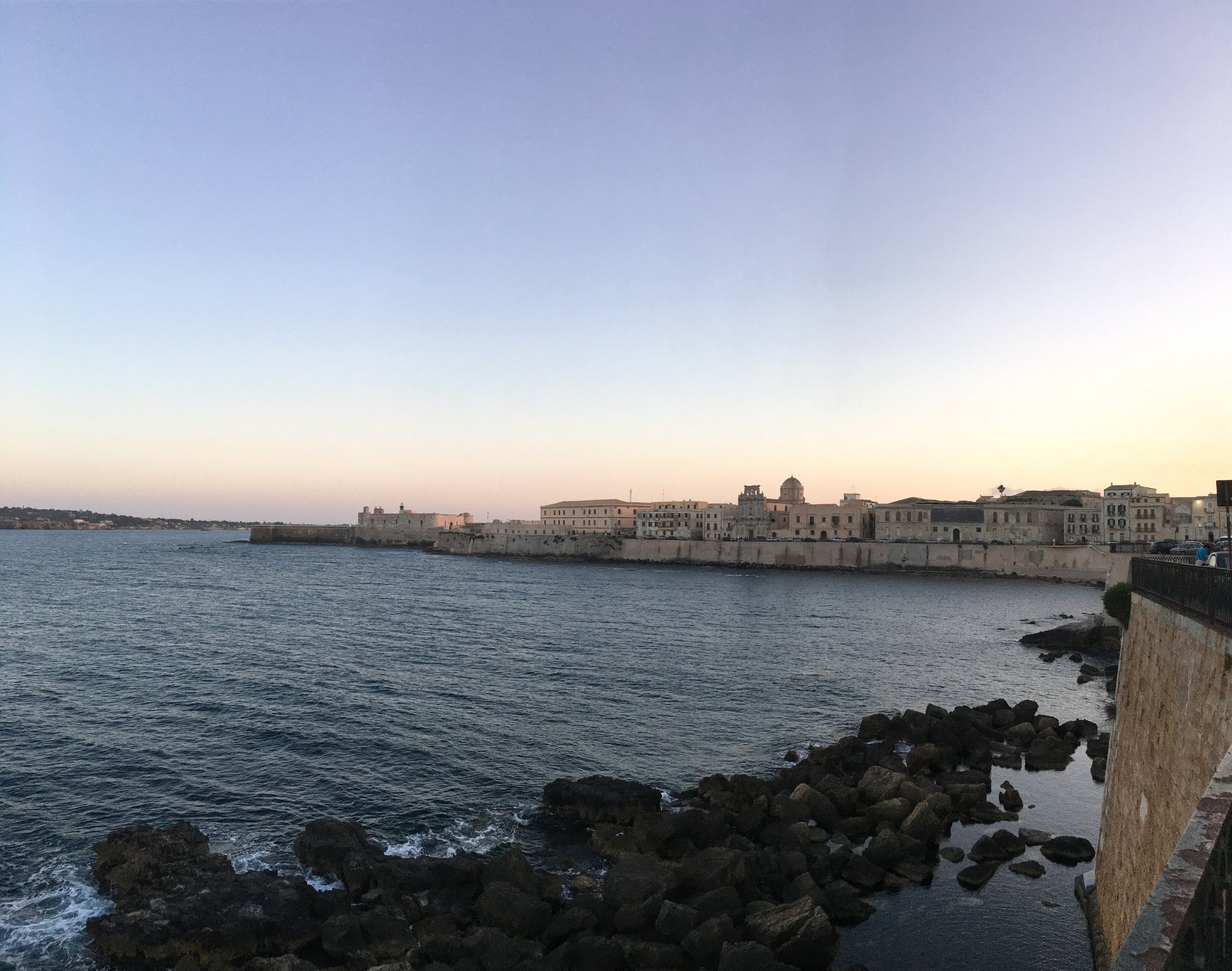 View by Alevante at sunset