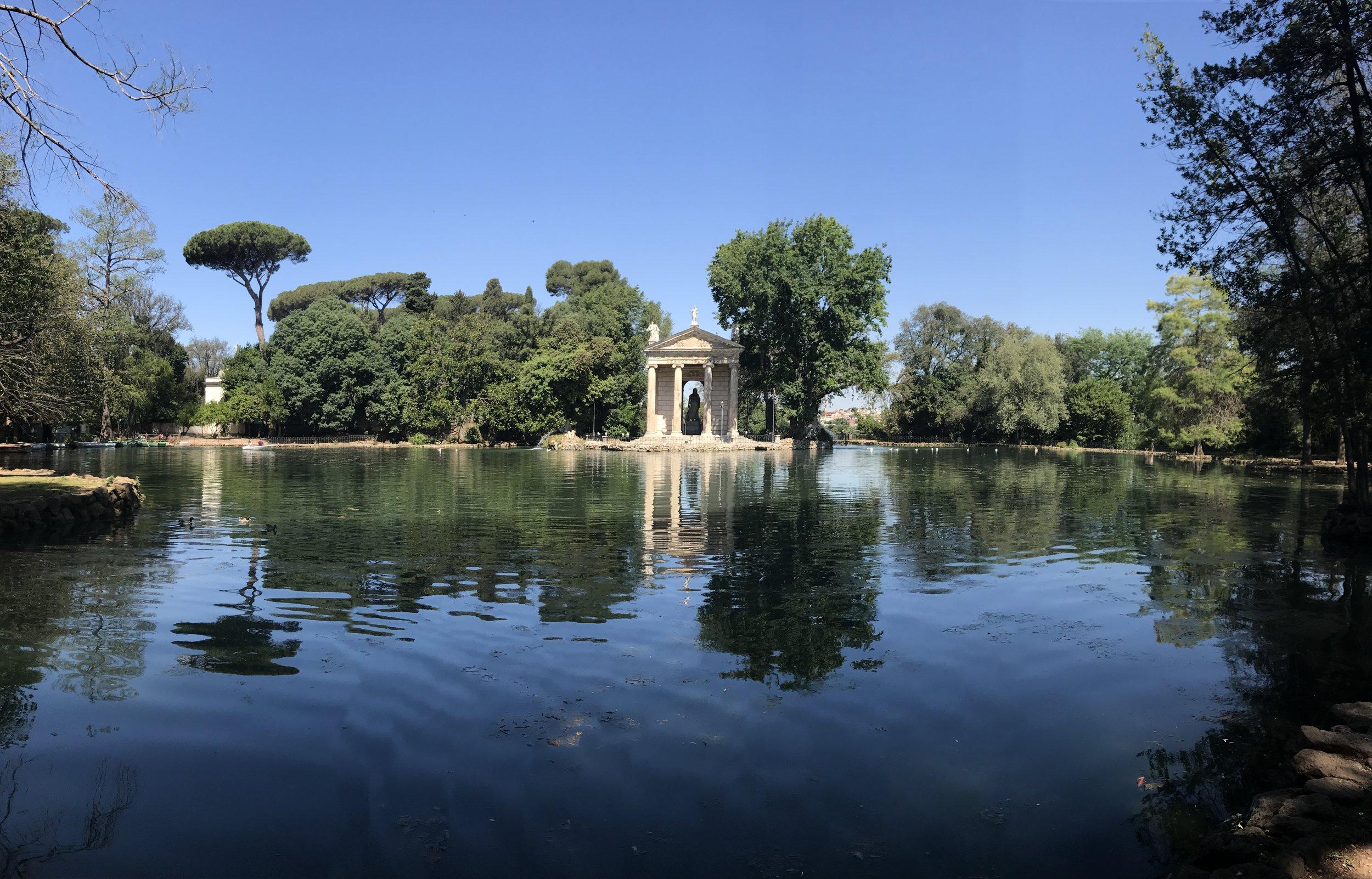 From Villa Borghese