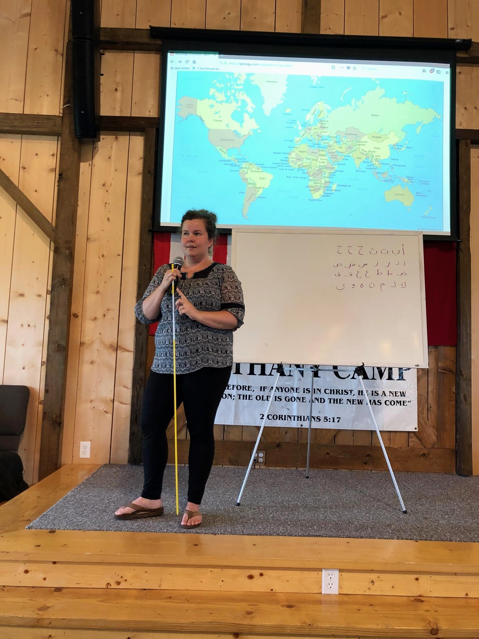 Bethany Cetti, our Missionary Speaker.