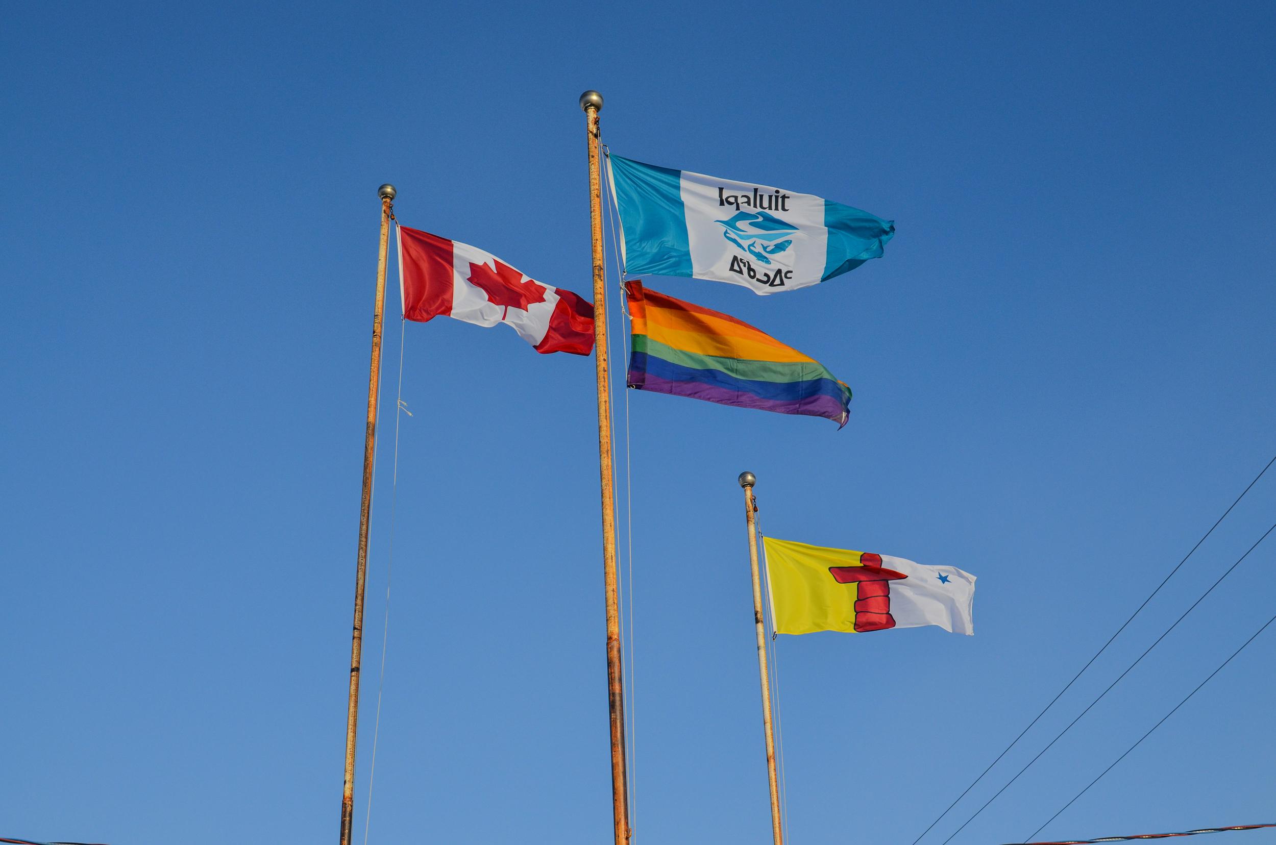 Canada, Nunavut, Iqaluit, and Pride.