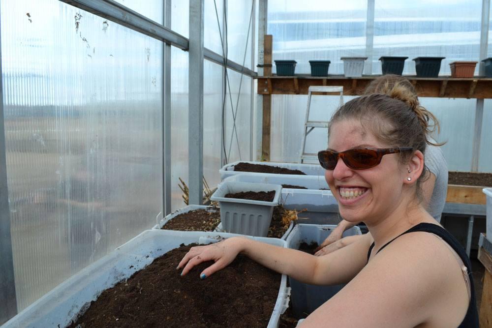 Iqaluit community greenhouse