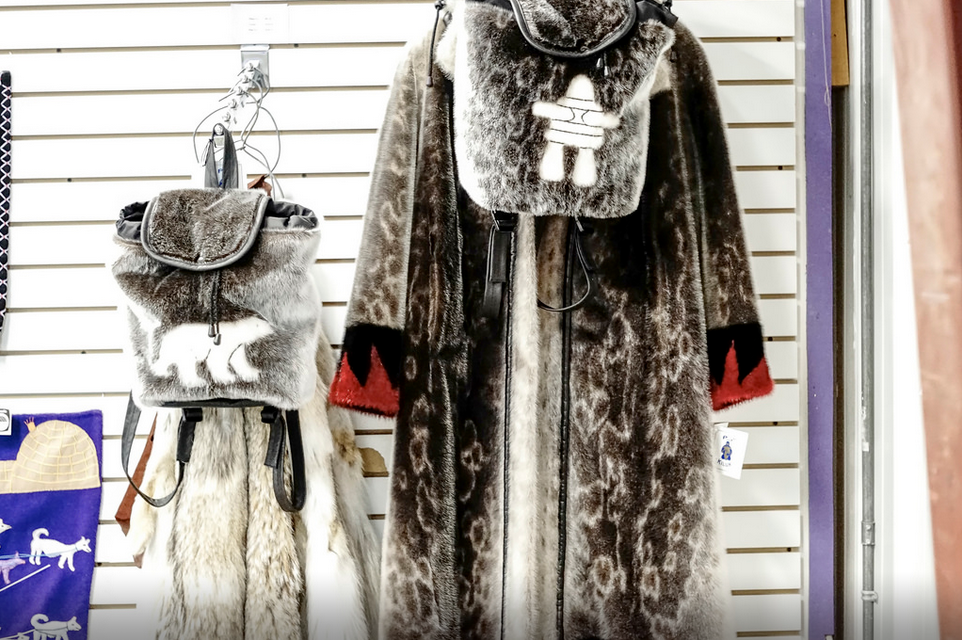 Sealskin Products at Kiluk Ltd. https://www.flickr.com/photos/canadianson/12211821753/player/