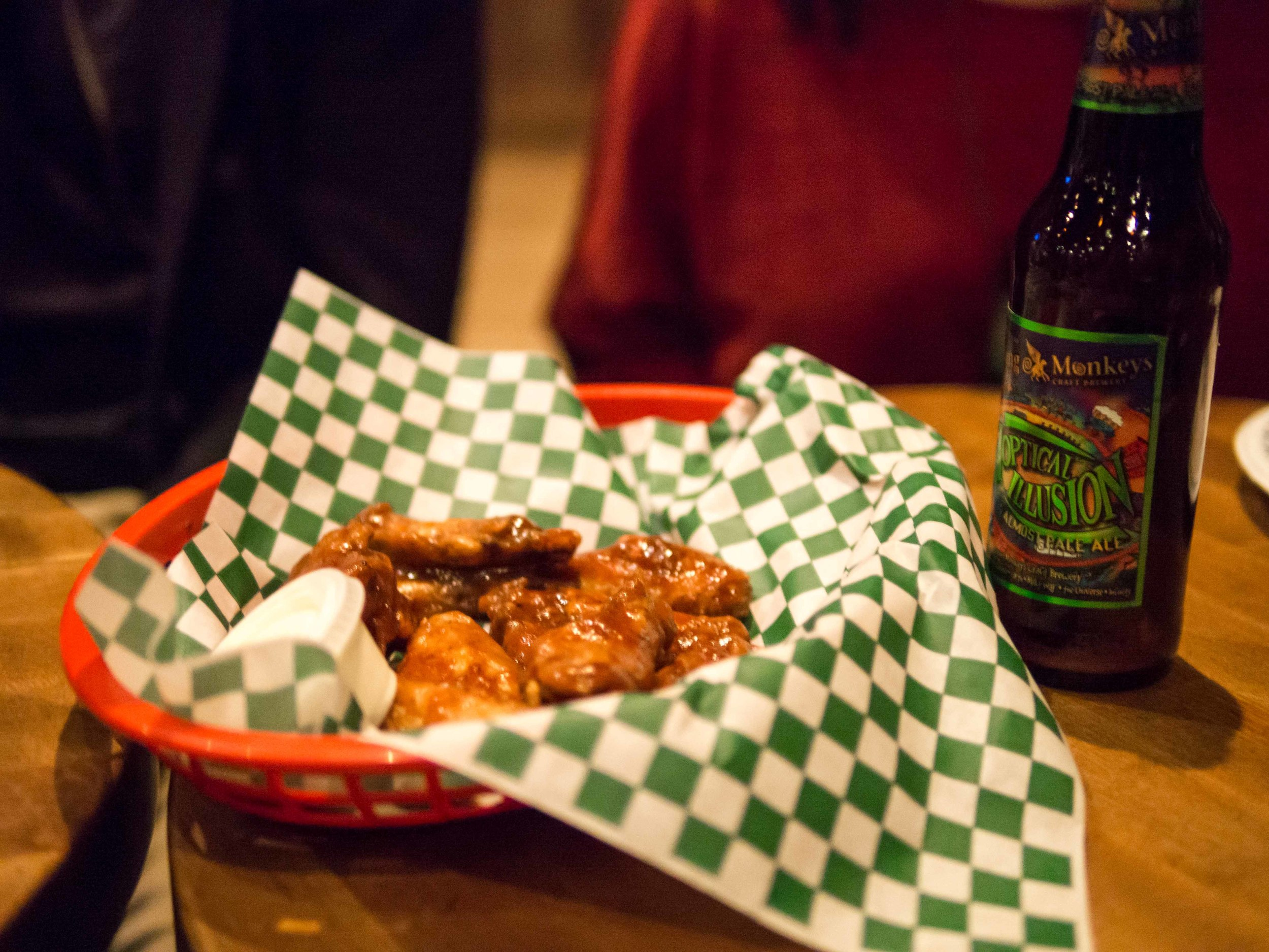 A $7.00 serving of Storehouse wings.