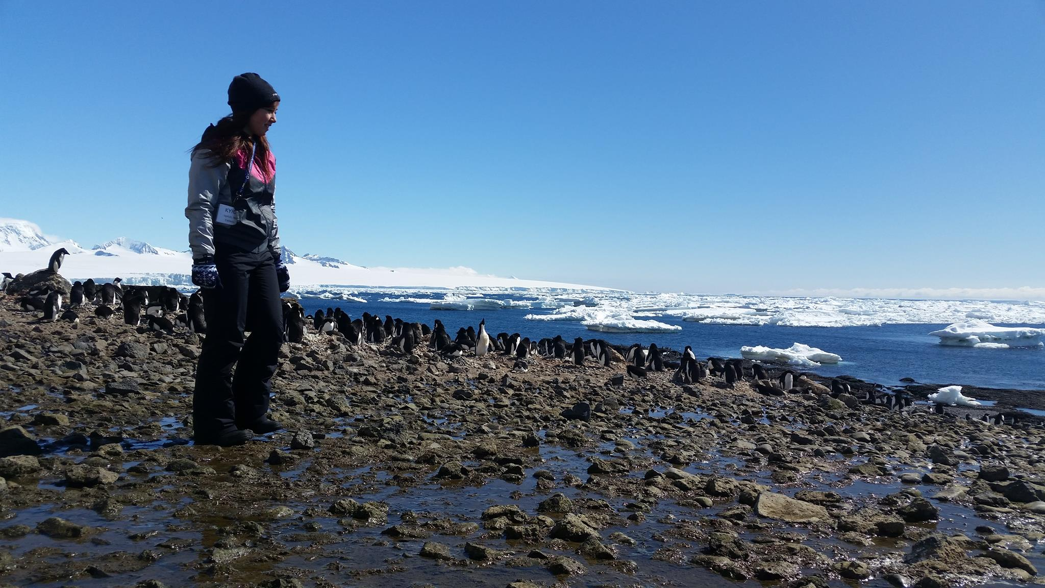 A photo of my on Deception Island - one of my favourite places in the world.