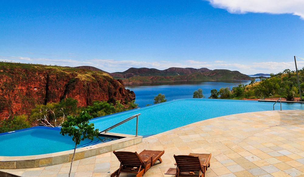 lake argyle's infinity pool