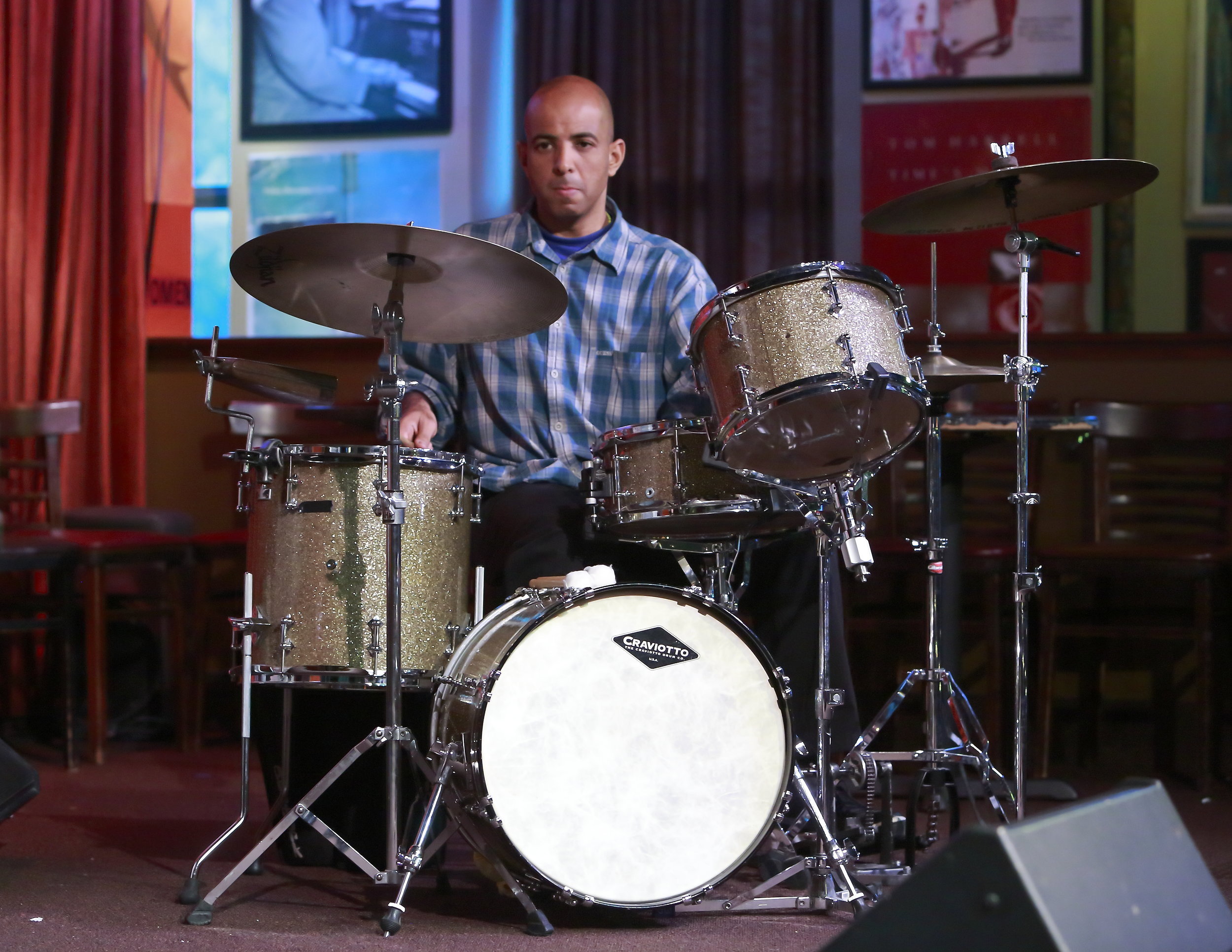 Rafael Monteagudo - Rafael Monteagudo (drummer/percussionist) arrived in the US in 2000 from Havana, Cuba. His areas of focus include jazz, funk, fusion, Latin jazz, and Afro-Cuban. He grew up in a neighborhood in Havana that has produced some of the most famous Cuban musicians in music history.
