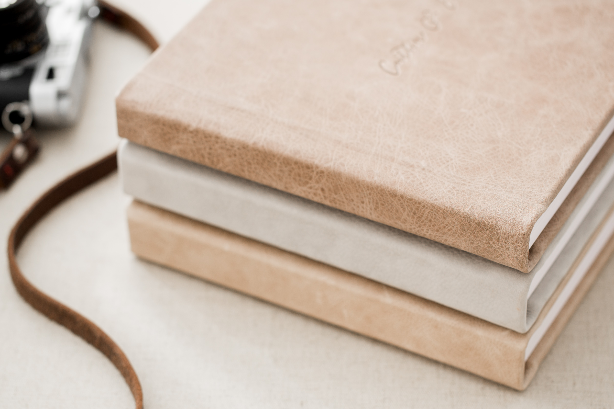 We offer over a 100 different cover options, from Luxe Linens to Distressed Leathers.