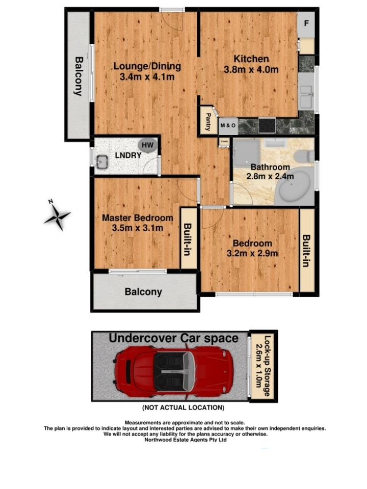 Floor plan for 3/23 Helen Street, Westmead NSW 2145