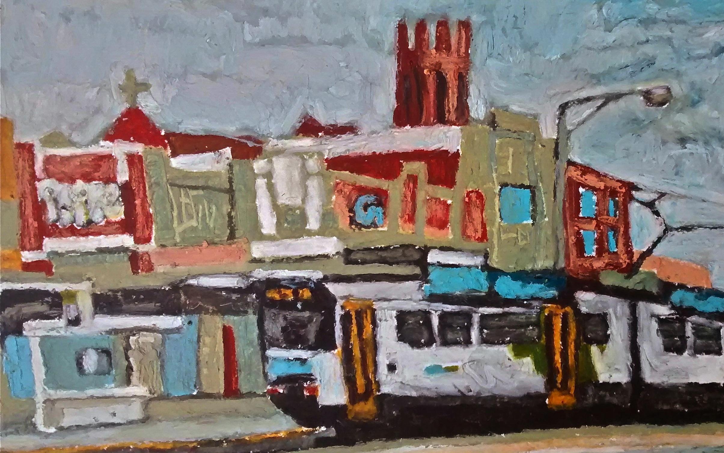 86 tram, High Street.jpg