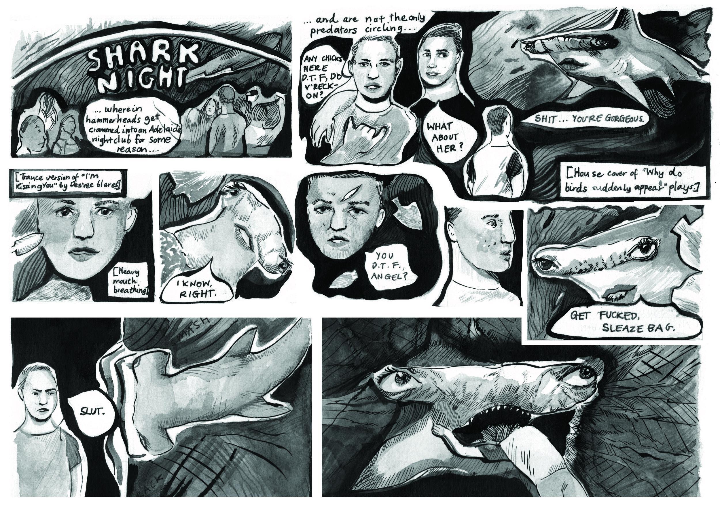 SHARK NIGHT - By Eloise Grills
