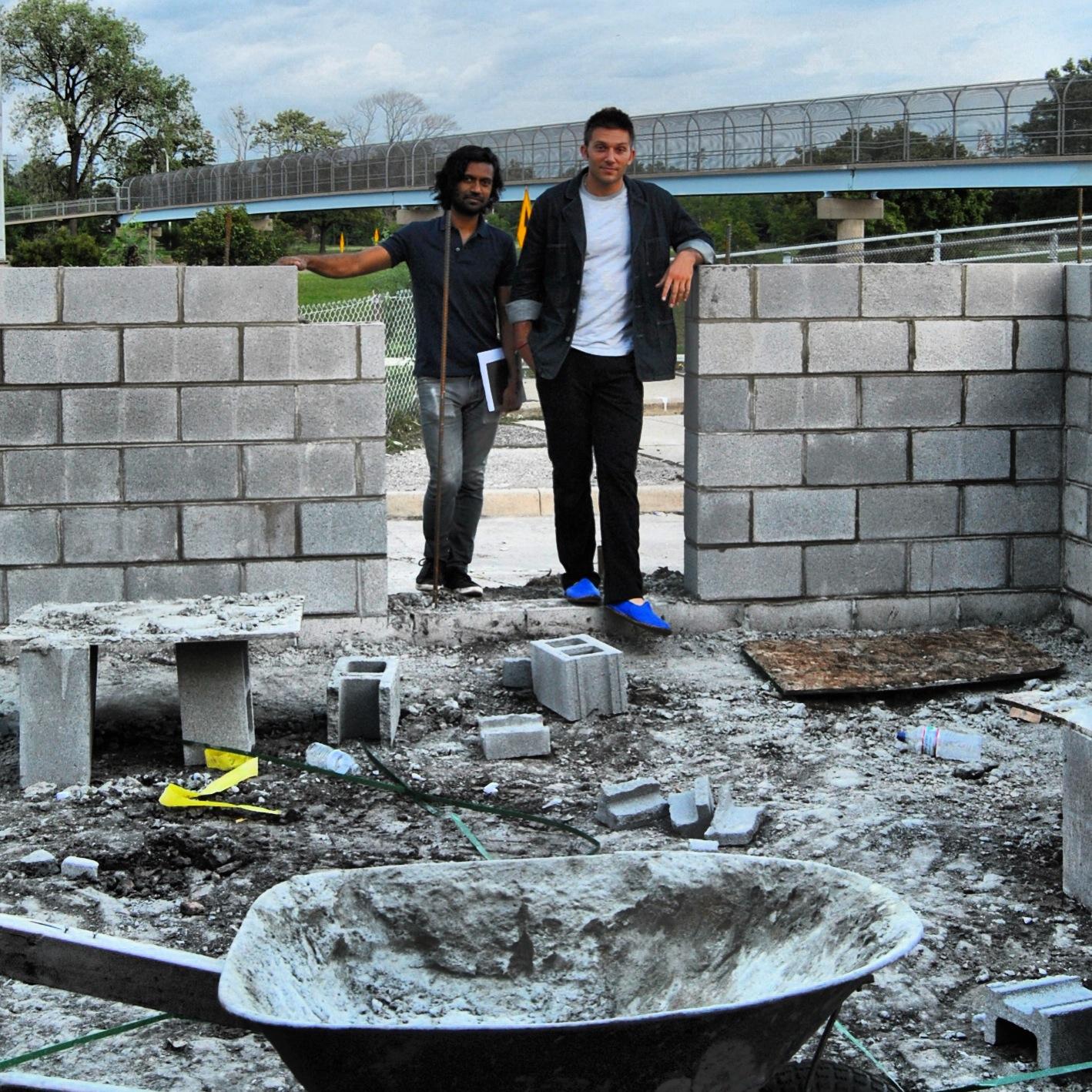 Ish and PK at Katoi wayyy before it became Katoi.