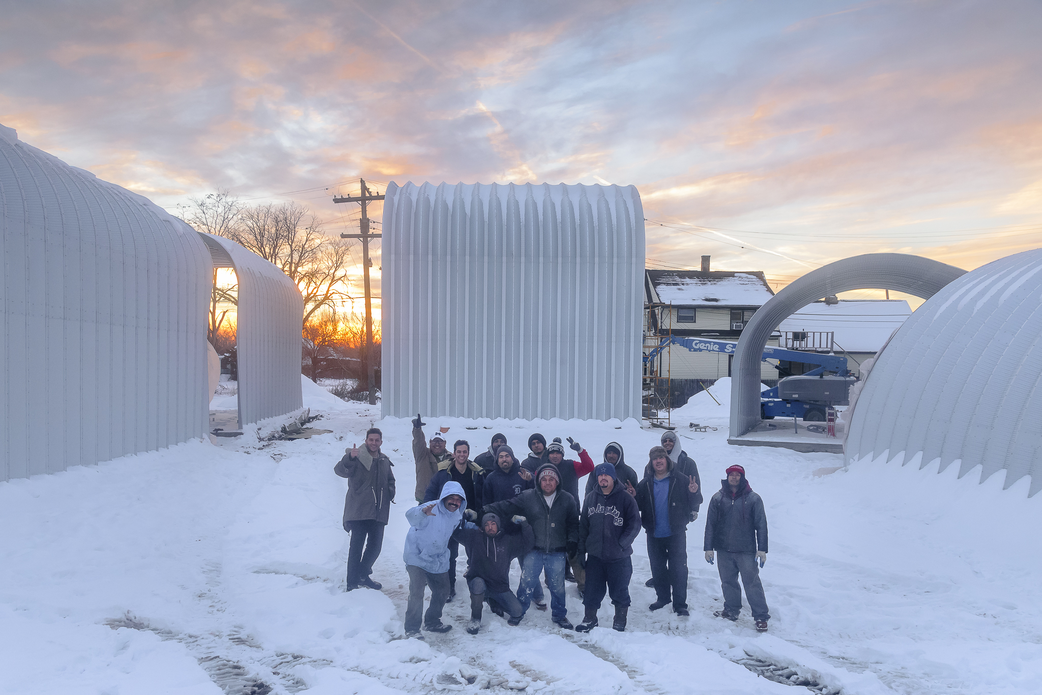 February 2017 - a cold but productive winter for the True North team!