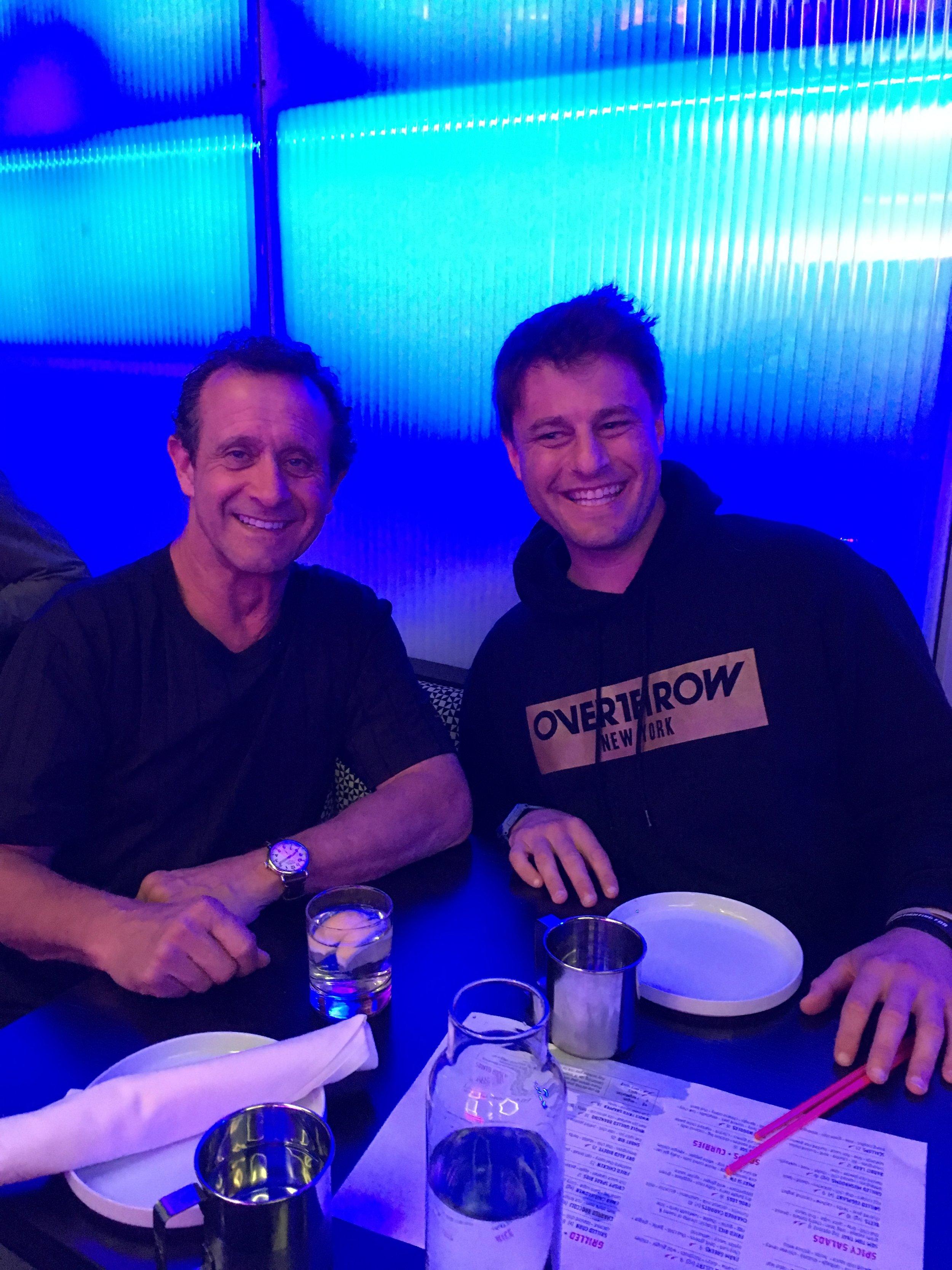 Randy Pardy and Joey Goodwin (Overthrow NY) at TAKOI.