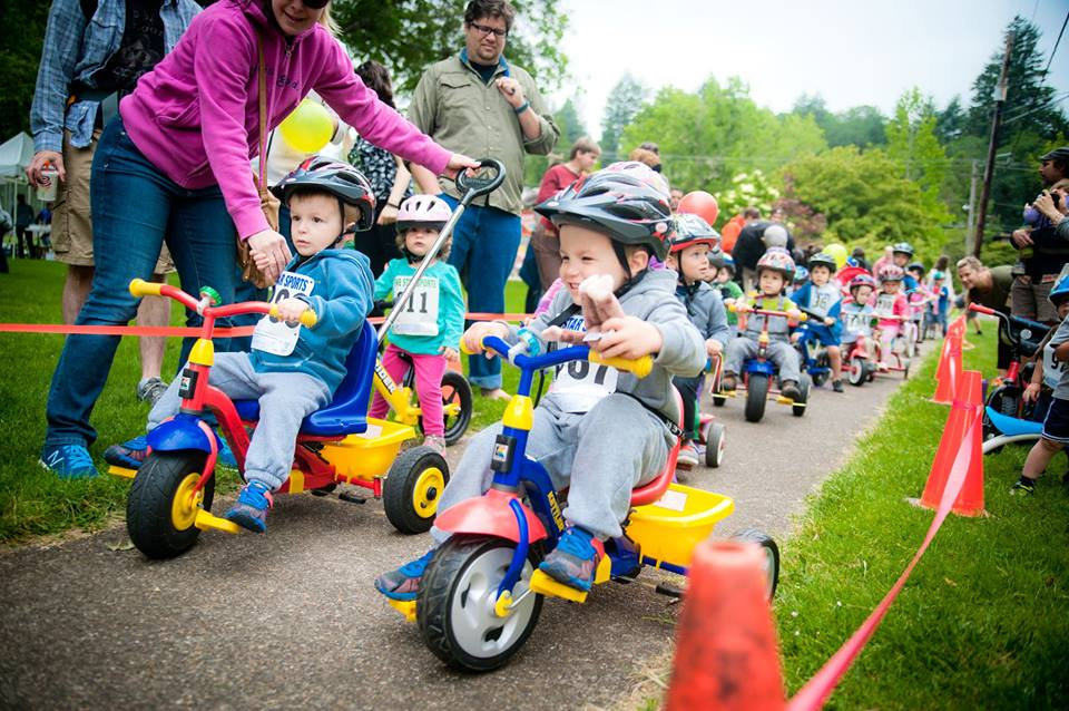 The Short Course is great for emerging riders, push-bikes, scooters and trikes.