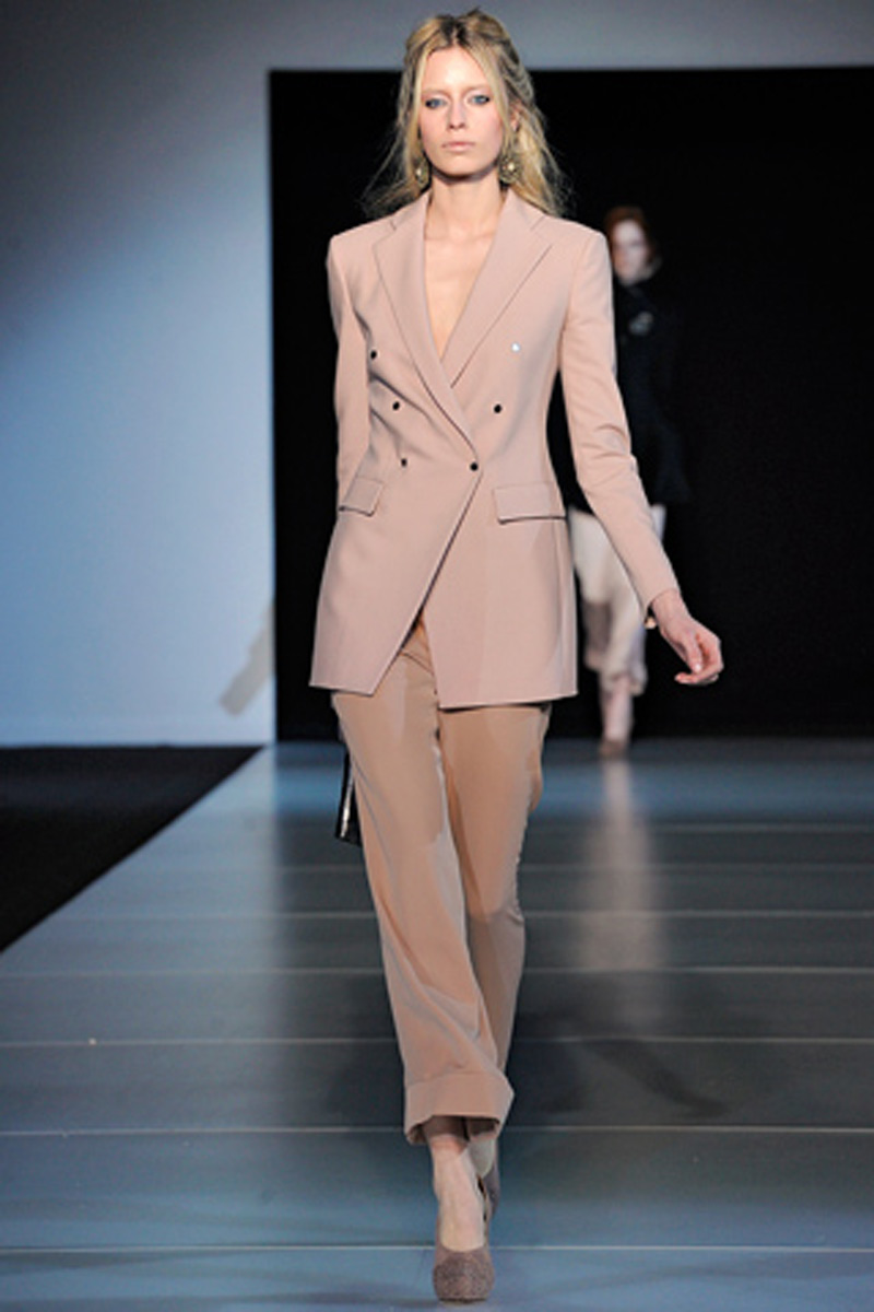 Armani- Milan Fashion Week Fall 2011
