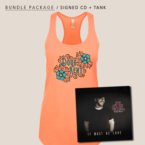 Bundle Package: Signed CD + Tank : $30.00