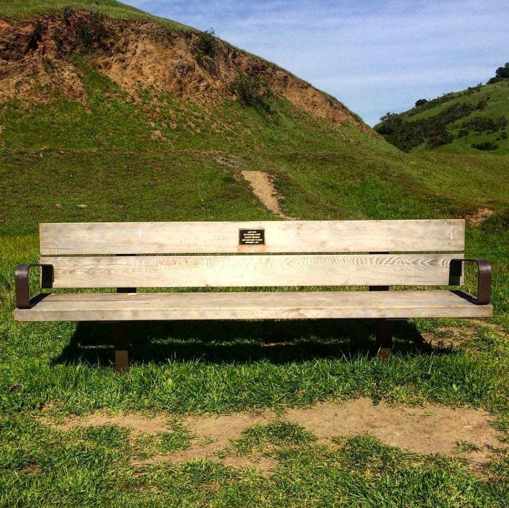 Birfday Bench, Oakland, CA 4:16.jpg