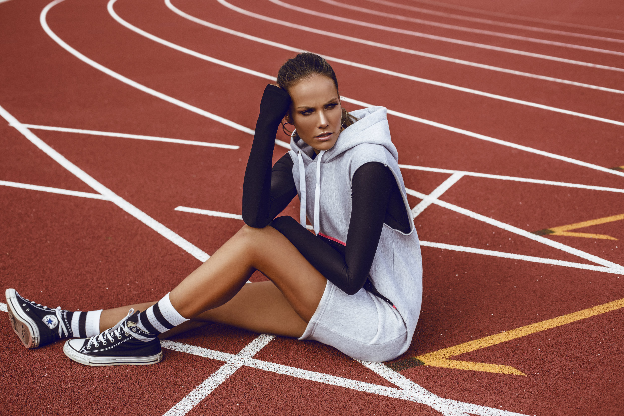Tully Lou X The Stylist Says Activewear Editorial