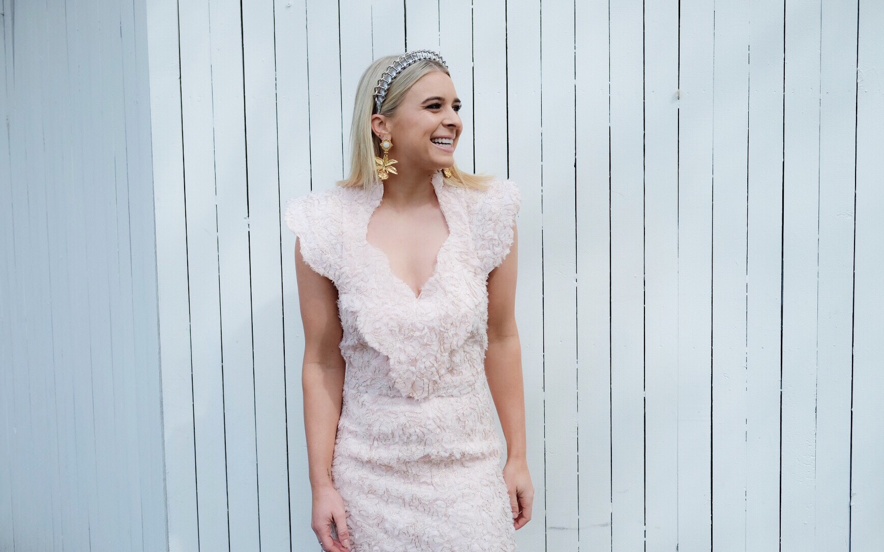 Emma Davenport (Presenter) Network 7 Spring Racing Carnival - Personal Styling