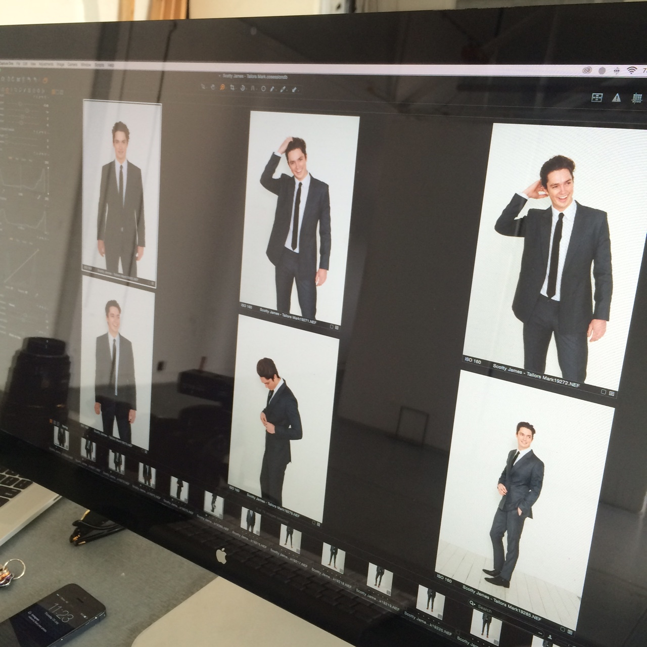 BTS Scotty James for Tailors Mark Campaign 2016