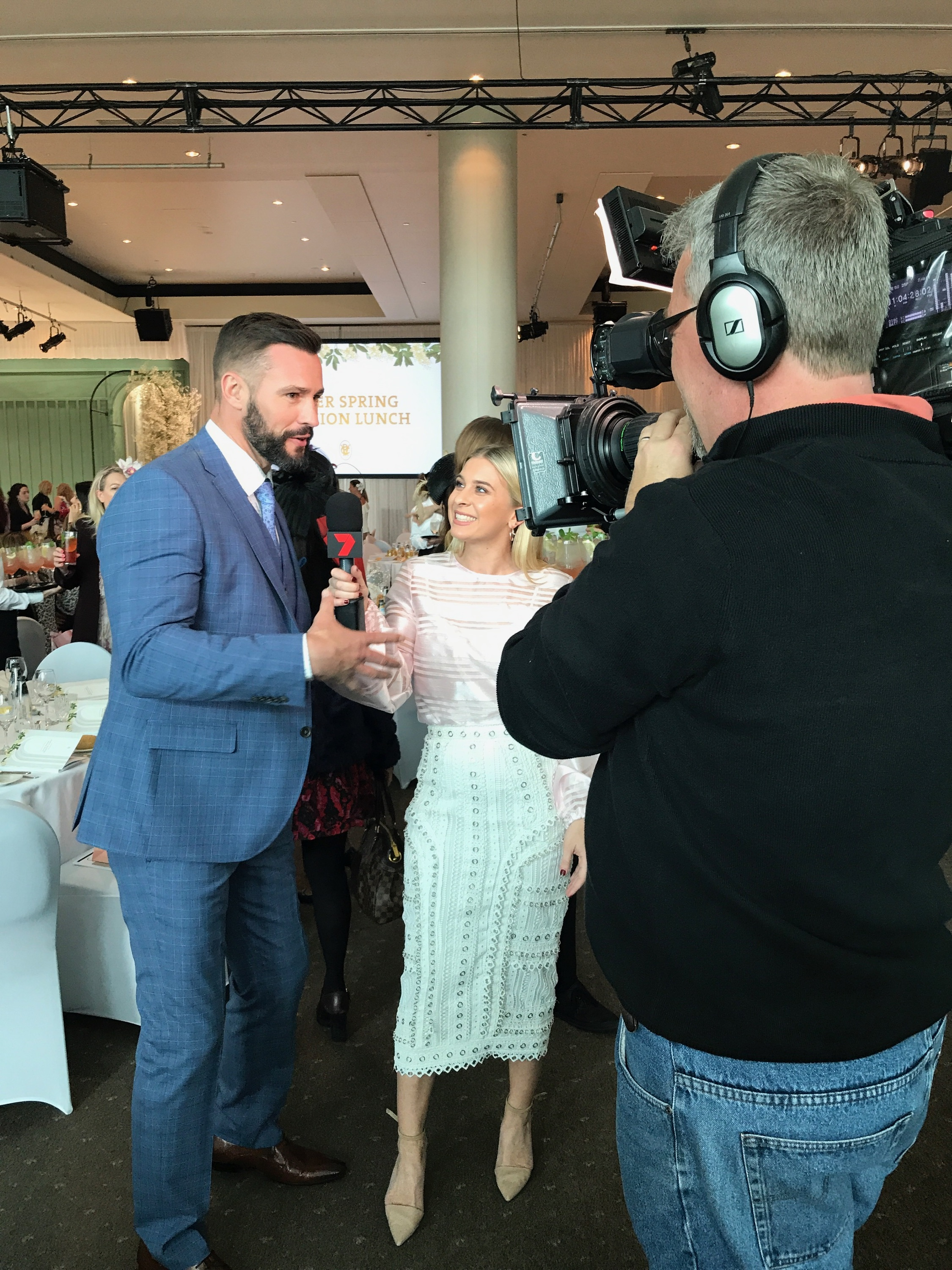 BTS Emma Davenport - Melbourne Spring Racing Launch