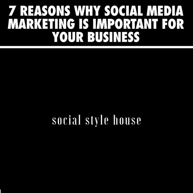 Let's start with one simple fact: your business needs a social media presence.⁣ ⁣ It doesn't matter if you run a small local shop or a big national company. Social media is an essential piece of your business marketing strategy.⁣ ⁣ Social platforms help you connect with your customers, increase awareness about your brand, and boost your leads and sales. With more than three billion people around the world using social media every month, it's no passing trend.⁣ ⁣ Here are a few reasons why investing in social media is a wise business move.⁣