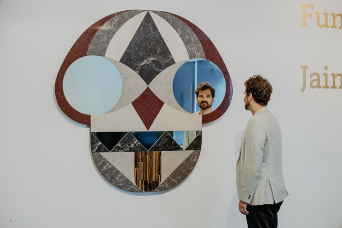 Jaime Hayon and Face Mirror – image by Liah Cheskonov