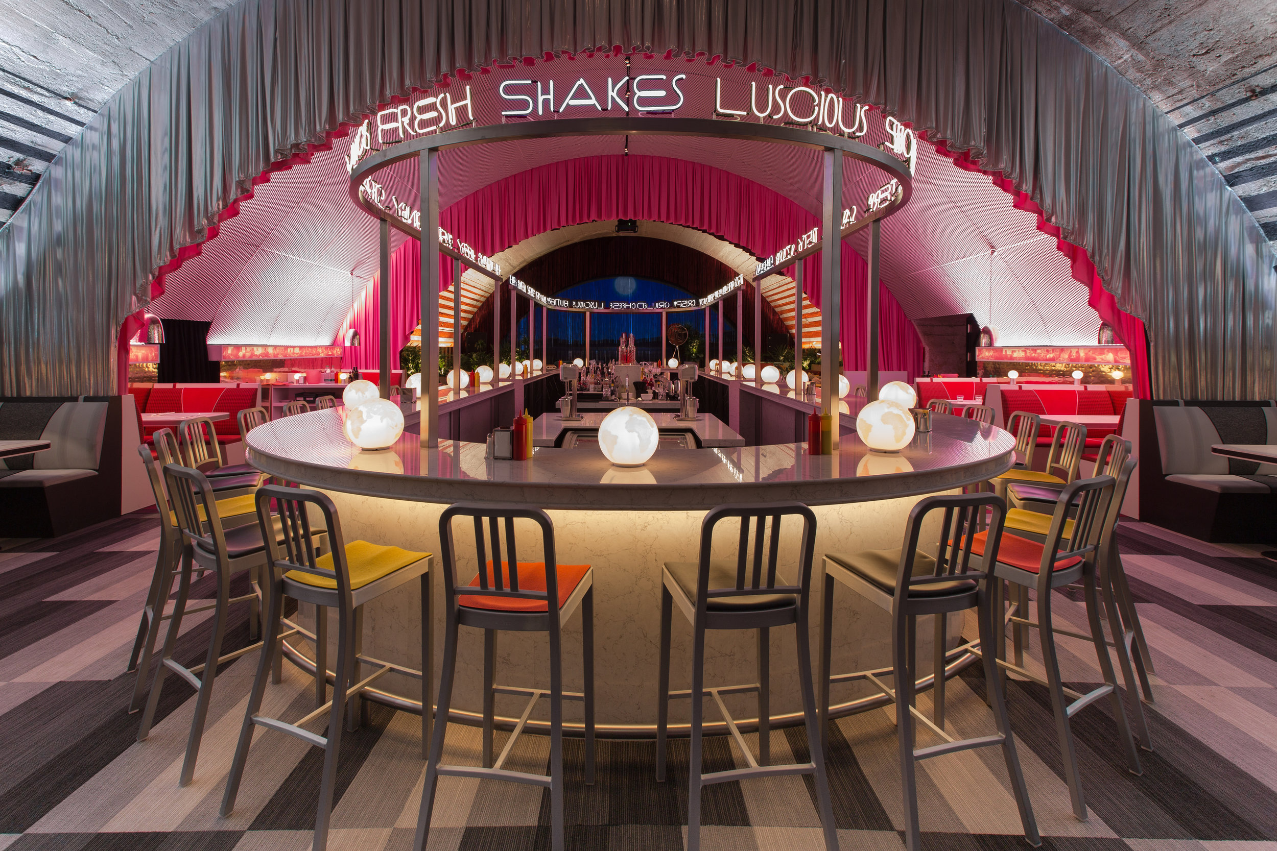 The Diner by David Rockwell + Surface with 2x4. Image credit - Michele de Candia