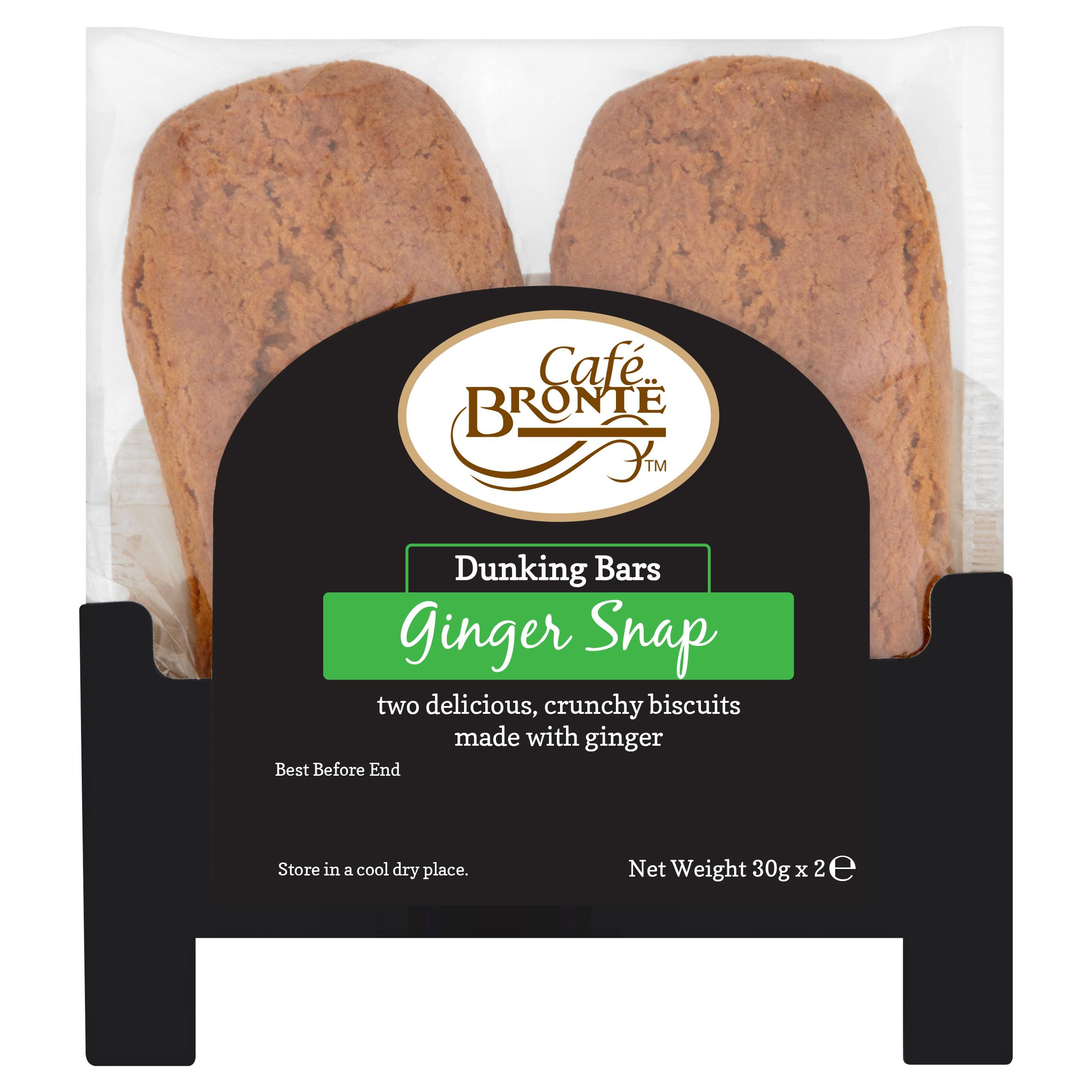 Ginger Snap Dunking Bars