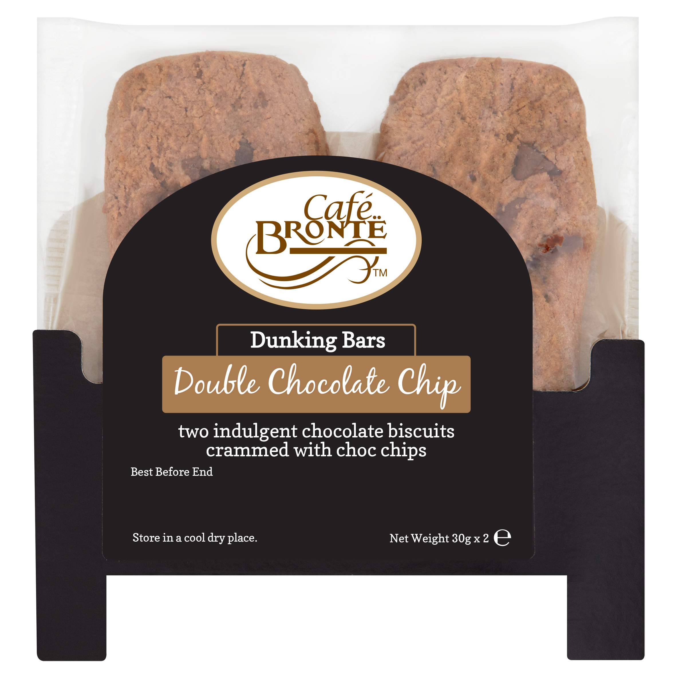 Double Choc Chip Dunking Bars