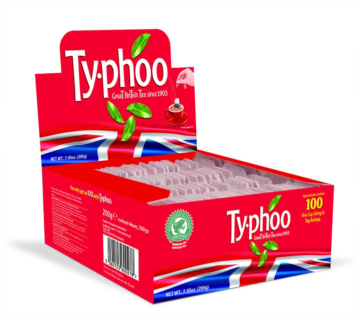 Typhoo RFA Tea Bags