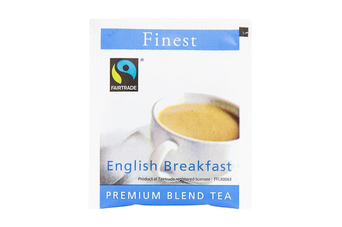 Fairtrade Tag & Envelope Tea Bag