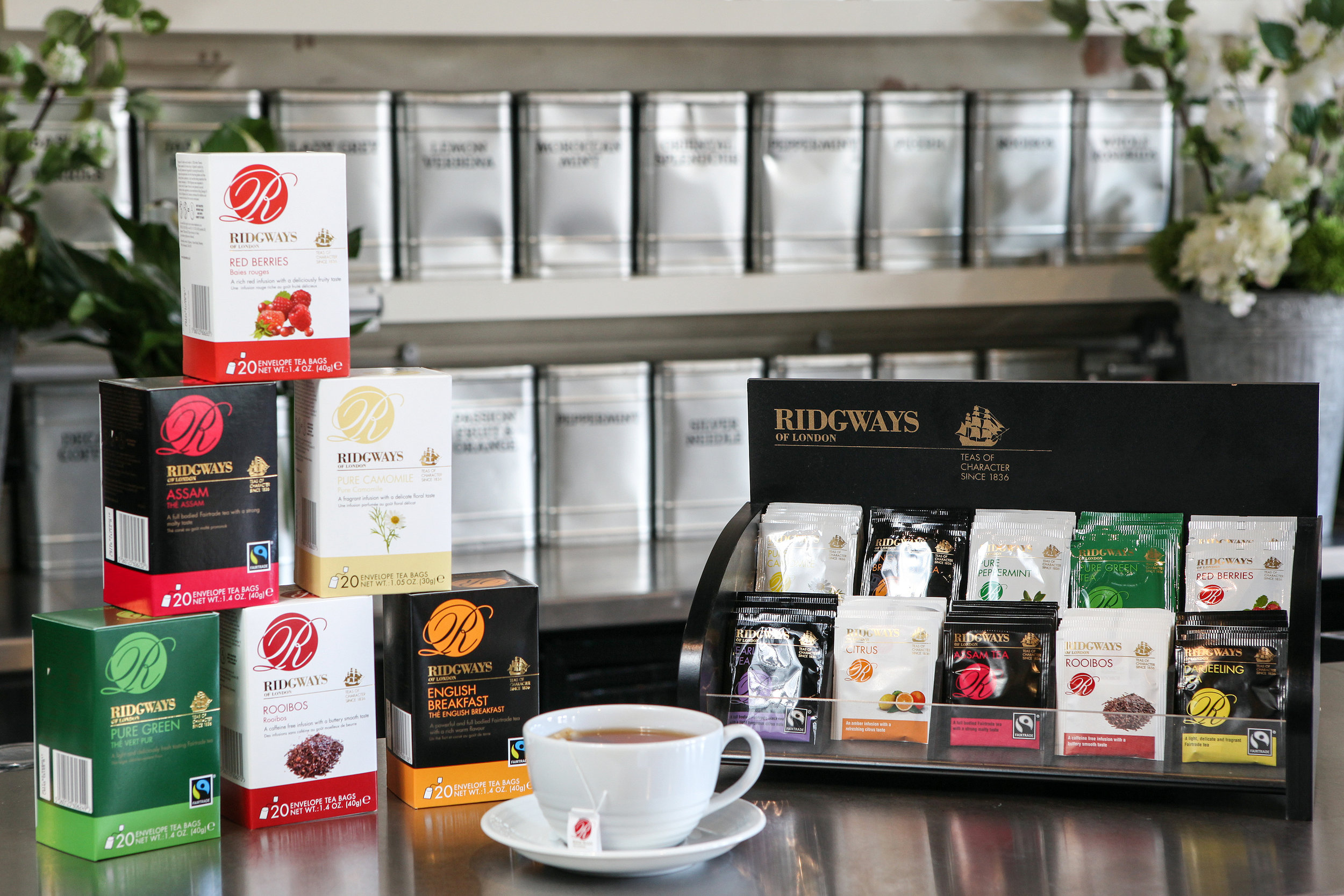 Ridgways Tea Range - Check out the variety of Ridgways Tea options also available from stock…
