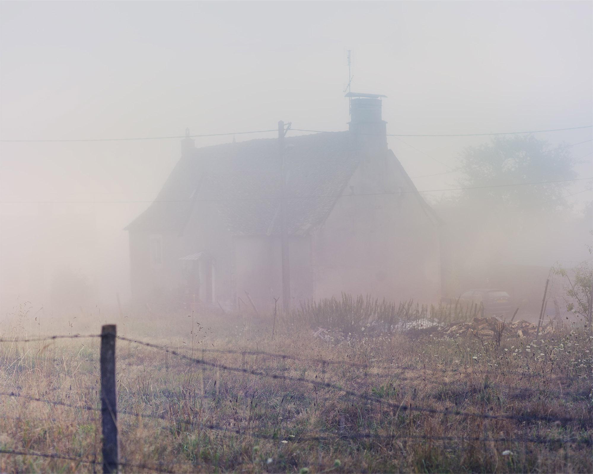 Farmers Cottage, Courqueux, Goulles, Central France, 2015. © Alan McFetridge