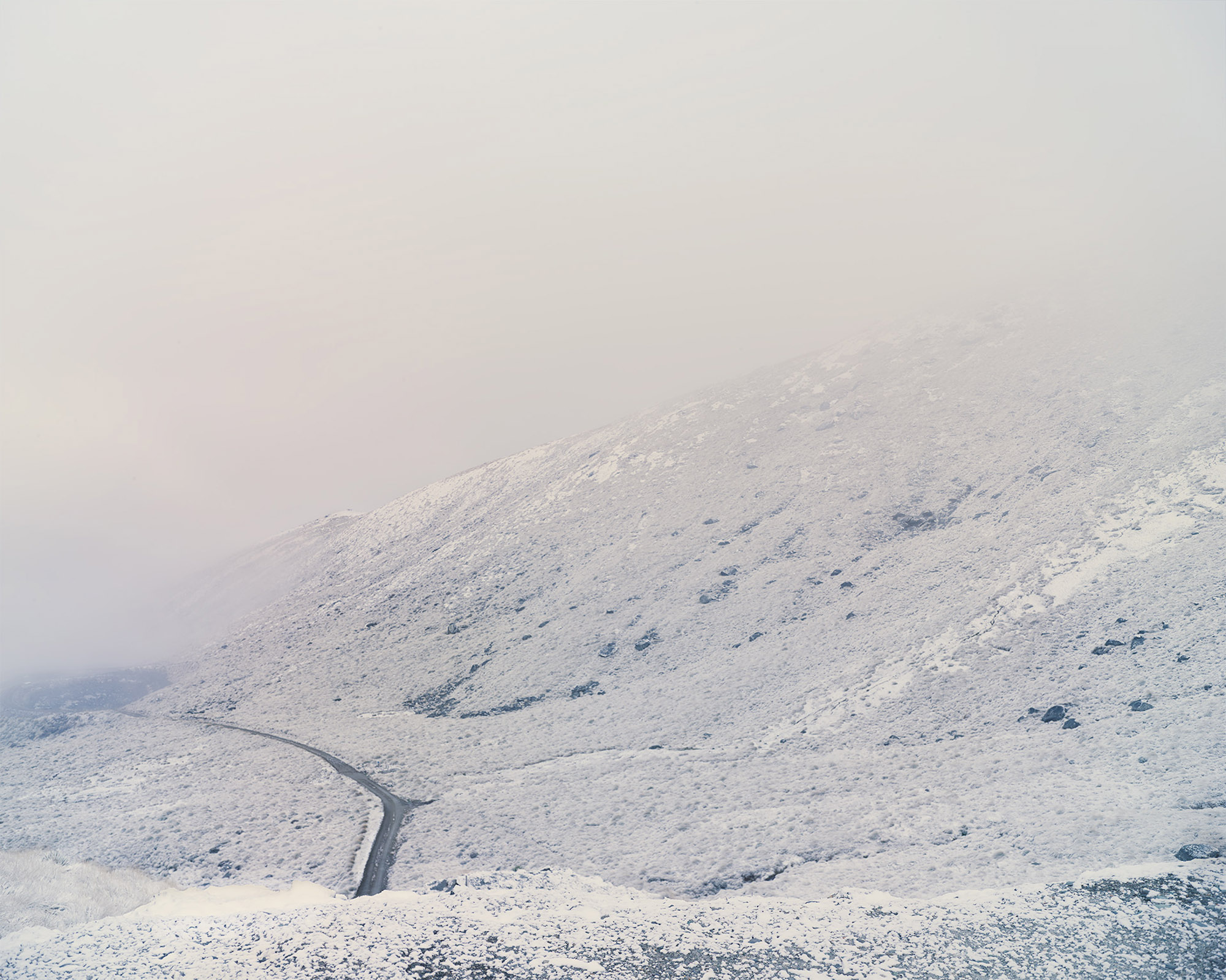 Artificial Snow Making Well, Otago, New Zealand,2015. © Alan McFetridge