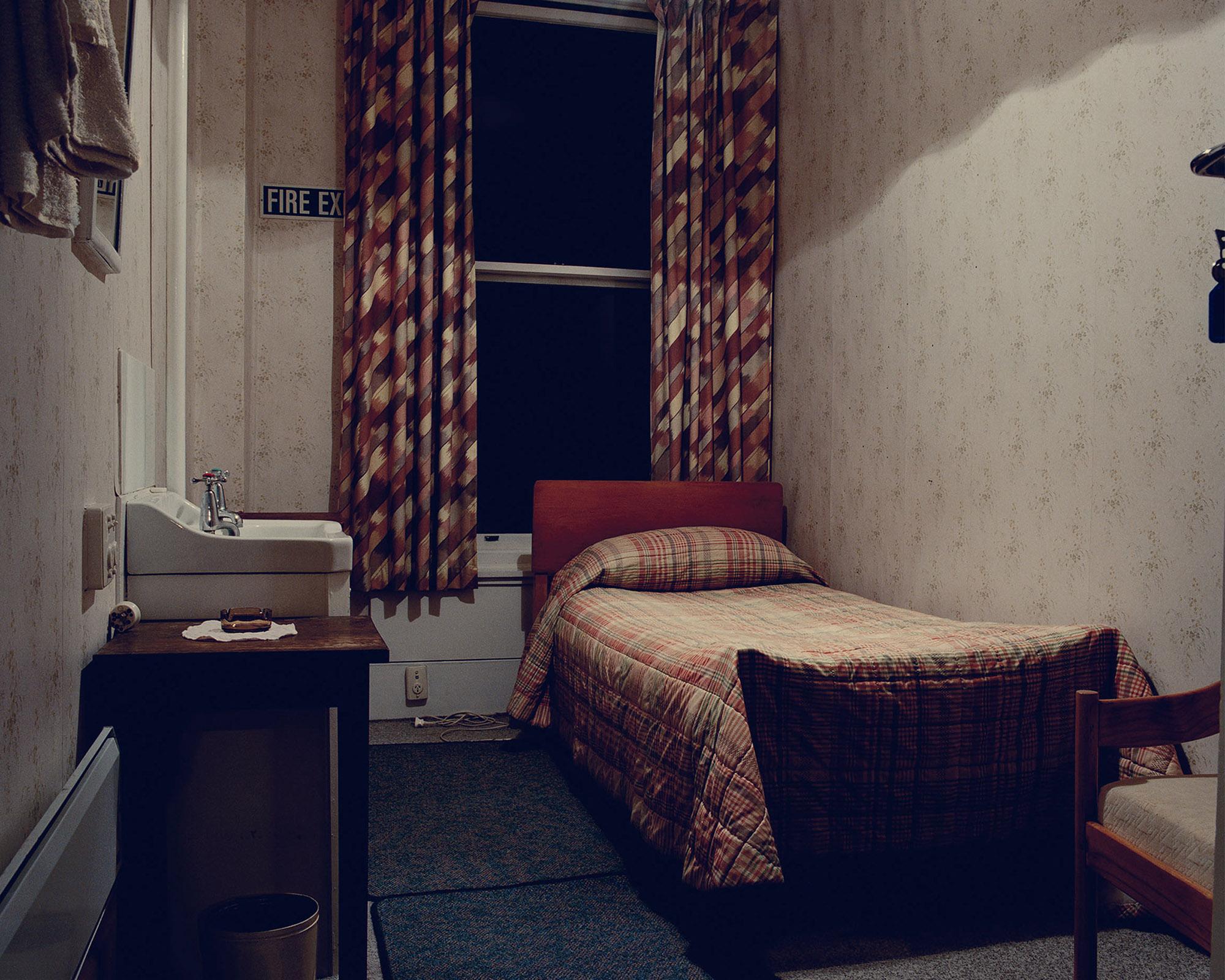 Room 1, Lumsden Hotel, 6 Diana St, Lumsden, Southland, New Zealand 2004. © Alan McFetridge