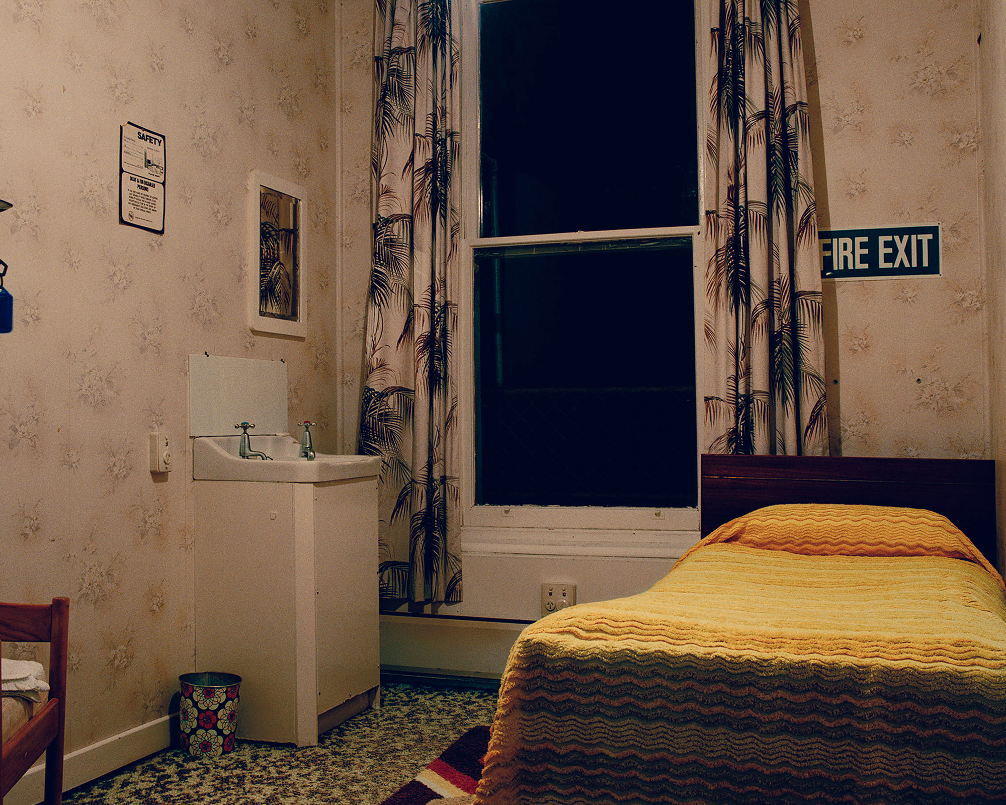 Room 6, Lumsden Hotel, 6 Diana St, Lumsden, Southland, New Zealand 2004. © Alan McFetridge