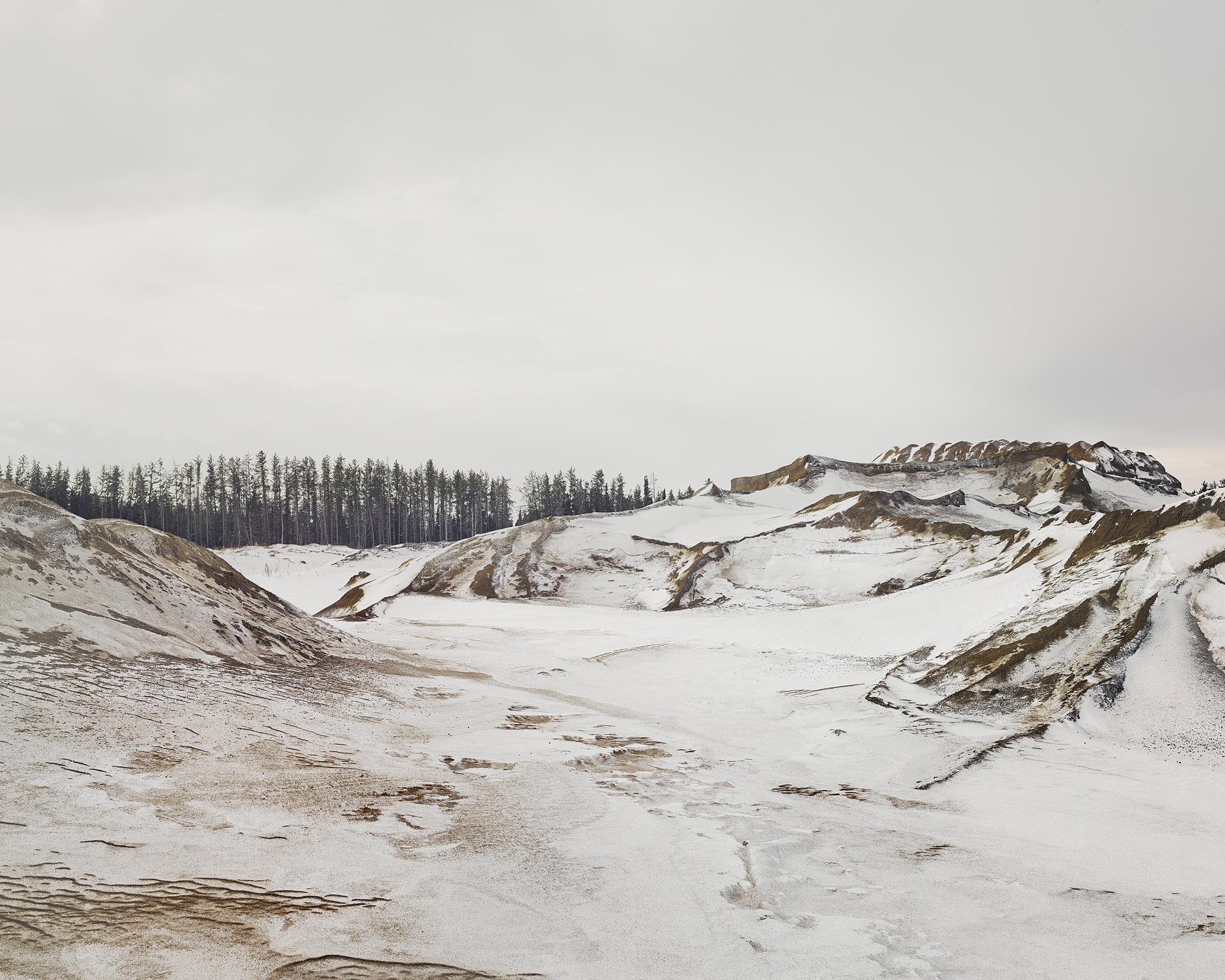 Aggregate Quarry, Firebag, Alberta, Canada, 2017