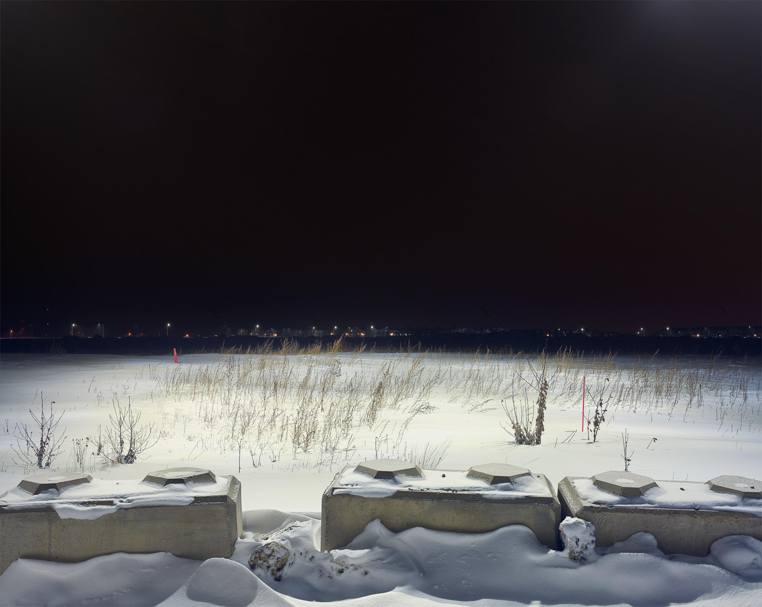 Callen Drive, Fort McMurry, Alberta, Canada. C-Type Print 80cm x 100cm © Alan McFetridge