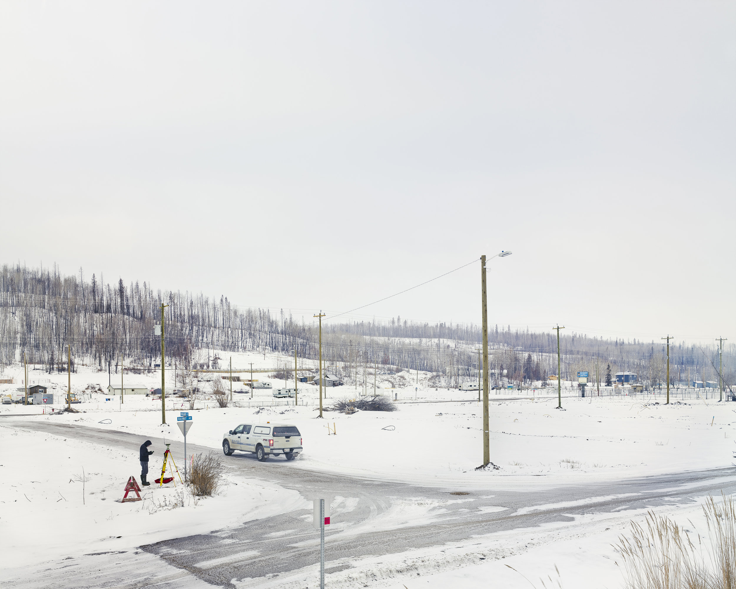 Saline Creek Drive, Fort McMurray, Alberta, Canada. 100cm x 120cm