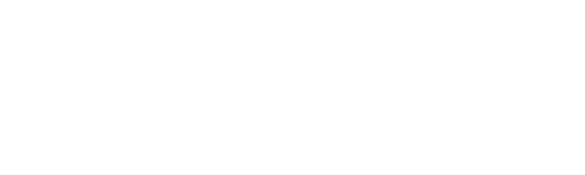 Frisørene & Esthetic - Hvit - To linjer
