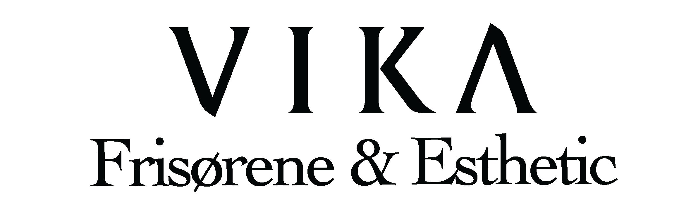 Frisørene & Esthetic - Svart - To linjer