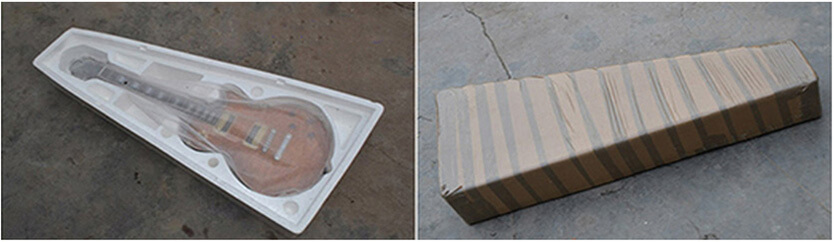 How Badcat Musical Instruments are packaged before they are shipped to your door.