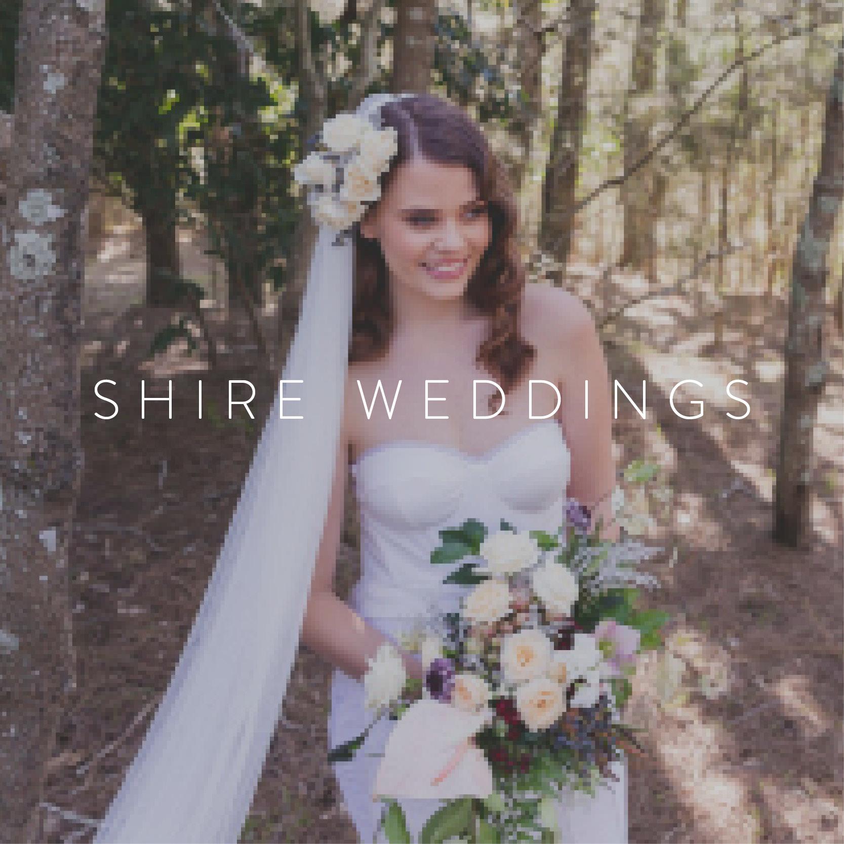 shire weddings