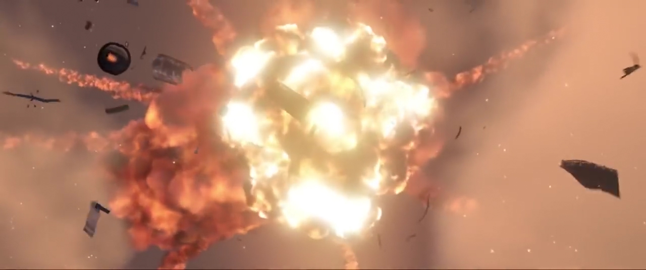 The Incredibles - explosion