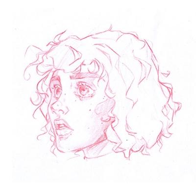 Fernanda Oliveira Portrait Study