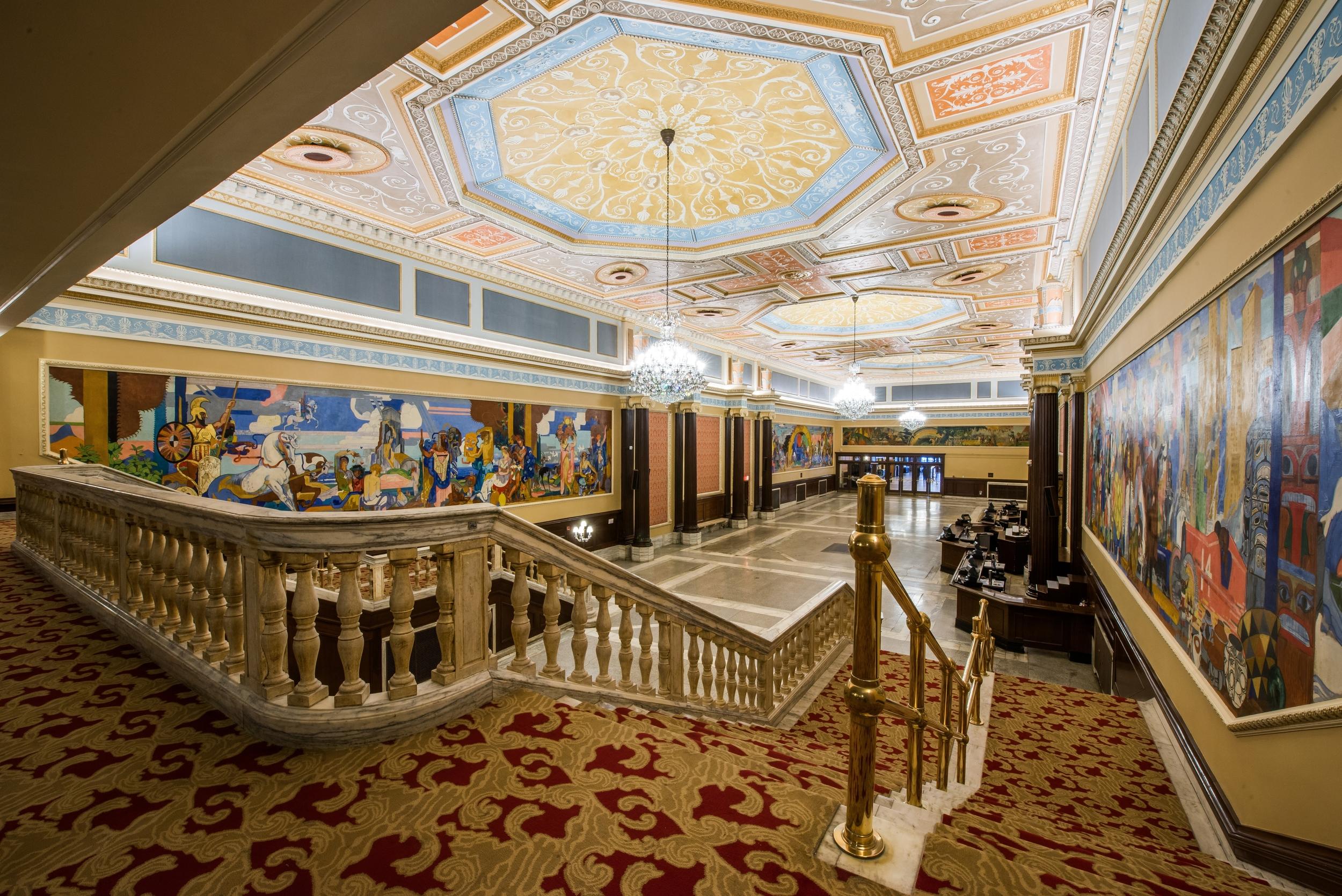 KeyBank State Theatre Ireland Lobby